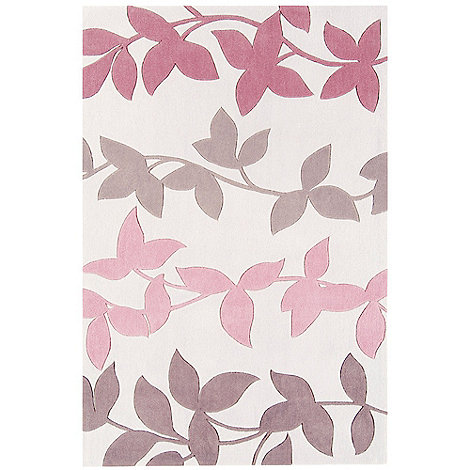Debenhams - Pink +Harlequin Vine+ rug