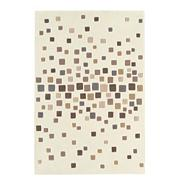 Natural 'Harlequin Space Dust' rug