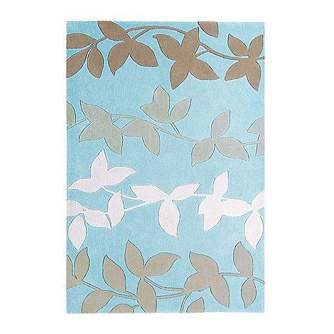 Debenhams - Duck egg blue +Harlequin Vine+ rug