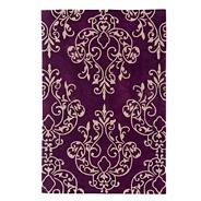 Purple 'Harlequin Milano' rug