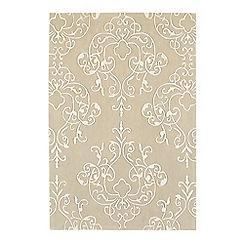 Debenhams - Fawn 'Harlequin Milano' rug
