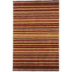 Debenhams - Brown wool 'Joseph Spice' rug