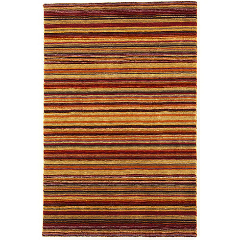 Debenhams - Brown wool 'Joseph Spice' rug