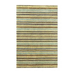 Debenhams - Duck egg wool 'Joseph' rug