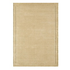 Debenhams - Beige wool 'York' rug