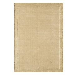 Debenhams - Beige wool 'York' rug