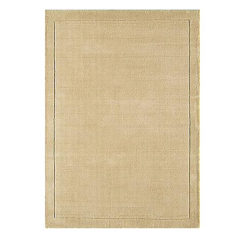 Debenhams - Beige wool +York+ rug