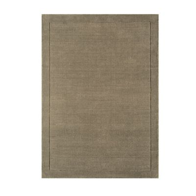 This Review Is From Taupe Wool York Rug