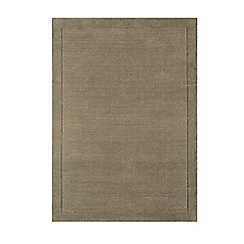 Debenhams - Taupe wool 'York' rug