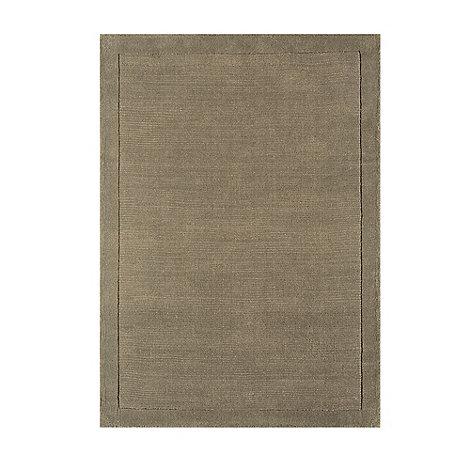 Debenhams - Taupe wool +York+ rug