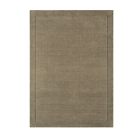Debenhams - Taupe wool +York+ rug