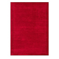 Debenhams - Red wool 'York' rug