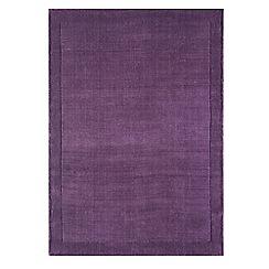 Debenhams - Purple wool 'York' rug