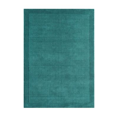 This Review Is From Teal Blue Wool York Rug