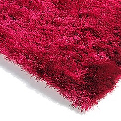 Debenhams - Fuchsia pink 'Whisper' rug