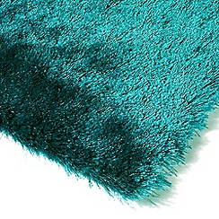 Debenhams - Jade green 'Whisper' rug