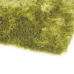 Debenhams - Apple green 'Whisper' rug