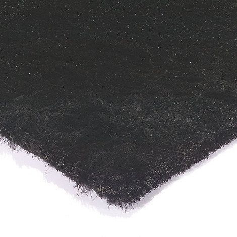 Debenhams - Black 'Whisper' rug
