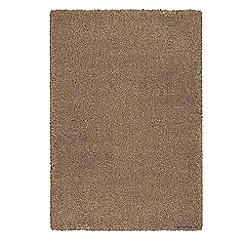 Debenhams - Caramel coloured 'Opus' rug