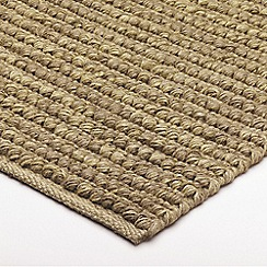 Debenhams - Natural 'Jute' rug