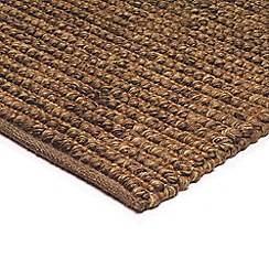 Debenhams - Brown 'Jute' rug