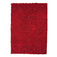 Debenhams - Red 'Roses' rug