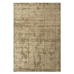 Debenhams - Taupe woollen 'Grosvenor' rug