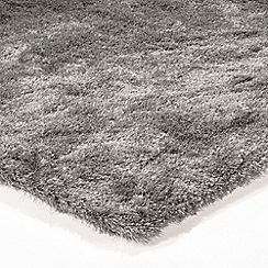 Debenhams - Silver coloured 'Whisper' rug