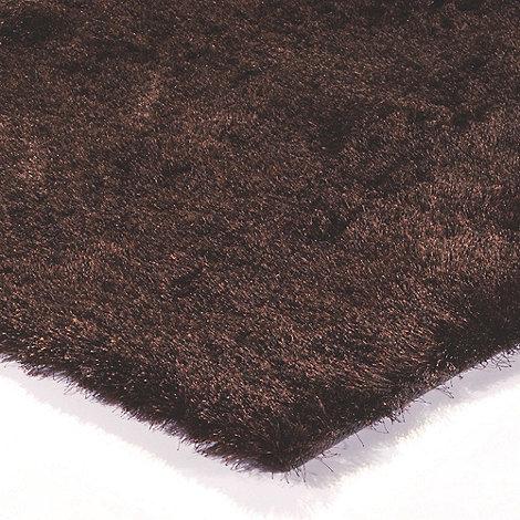 Debenhams - Brown 'Whisper' rug