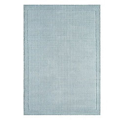 Debenhams - Pale blue wool 'York' rug