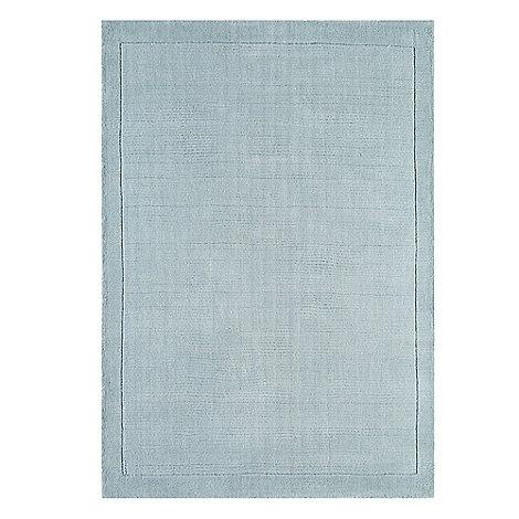 Debenhams - Pale blue wool +York+ rug
