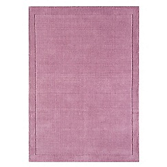Debenhams - Pink wool 'York' rug