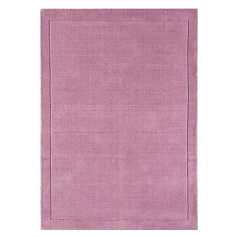 Debenhams - Pink wool +York+ rug