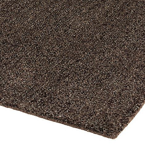 Debenhams - Chocolate +Brilliant+ rug