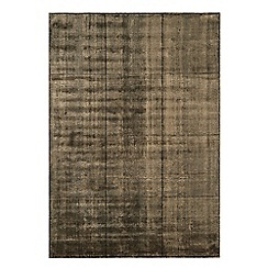 Debenhams - Brown woollen 'Grosvenor' rug