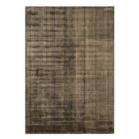 Debenhams - Brown woollen +Grosvenor+ rug