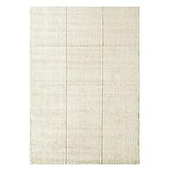 Debenhams - Ivory woollen 'Grosvenor' rug