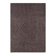 Chocolate brown 'Jazz' rug