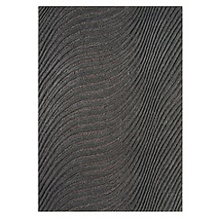 Debenhams - Charcoal 'Jazz' rug