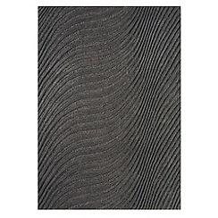 Debenhams - Charcoal 'Jazz' rug