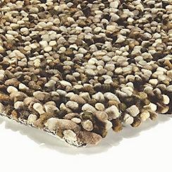 Debenhams - Brown wool 'Tashen' rug
