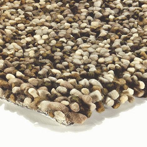 Debenhams - Brown wool +Tashen+ rug
