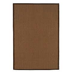 Debenhams - Brown 'Sisal' rug