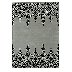 Debenhams - Grey wool 'Guild' rug