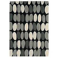Debenhams - Grey wool 'Sofia' rug