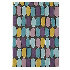 Debenhams - Multi-coloured wool 'Sofia' rug