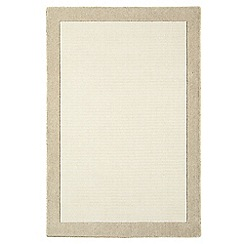 Debenhams - Neutral wool 'Taupe Moorland' rug