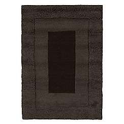 Debenhams - Grey wool 'Karma' rug