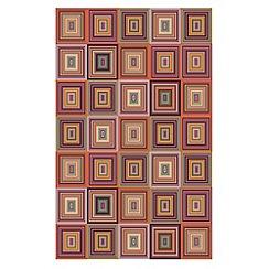 Debenhams - Red 'Bazaar' rug