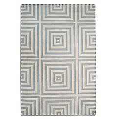Debenhams - Grey wool 'Frankie' rug